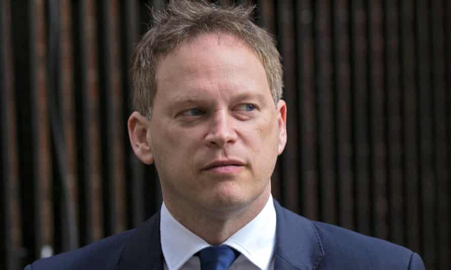 Grant Shapps during the election campaign.