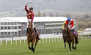 Minella Indo and Jack Kennedy win the Gold Cup.