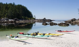 West Coast Expedition's Gourmet Kayaking package