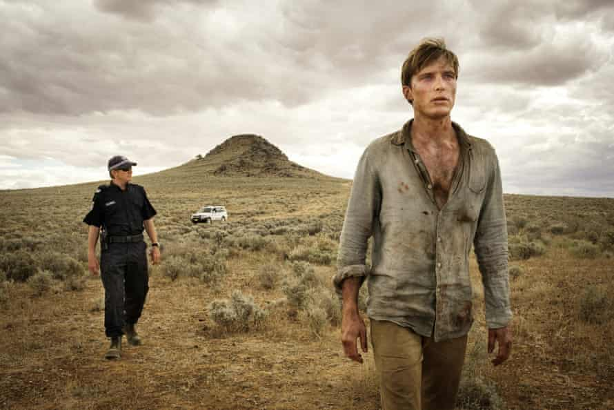 David Wenham and Sean Keenan in the outback