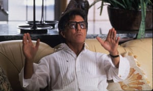 Dustin Hoffman in Wag the Dog.