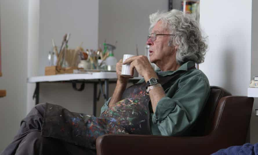 A still from The Leunig Fragments, a documentary about controversial Australian cartoonist Michael Leunig.