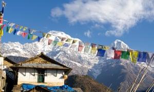 Mountain high: Ghandruk village.