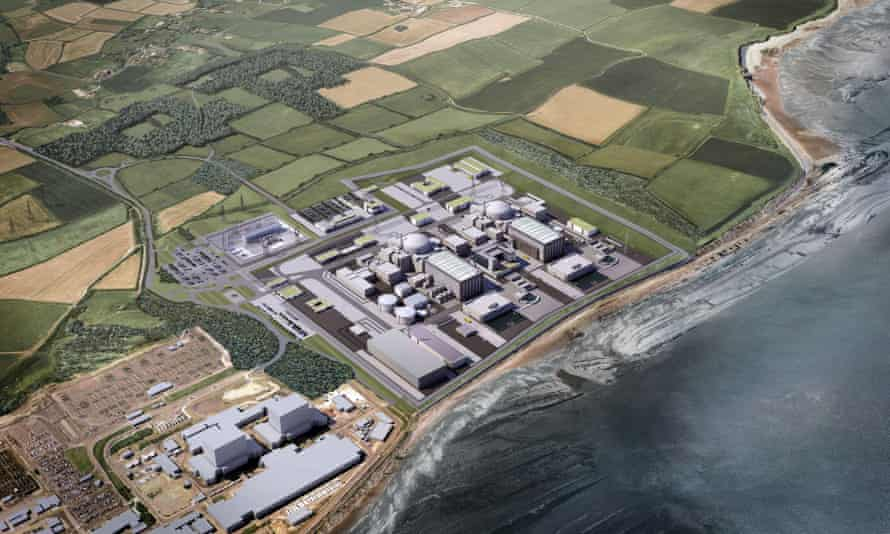 Design for Hinkley Point C nuclear power plant in south-west England