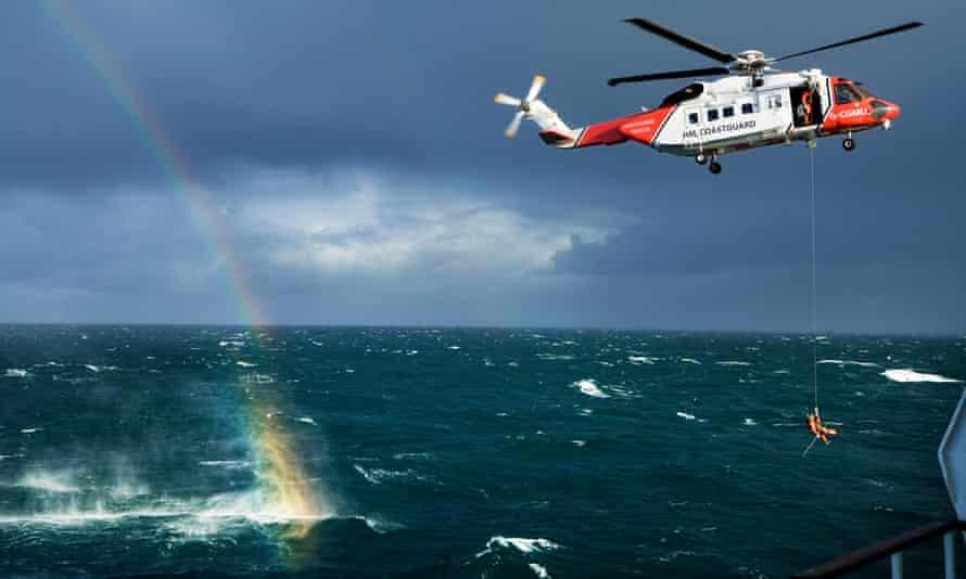 The UK coastguard service.