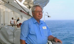 Bill Trowbridge spent the first eight years of his working life in the merchant navy, before moving into scientific research
