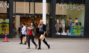Topshop at the Rock shopping centre in Bury, Greater Manchester