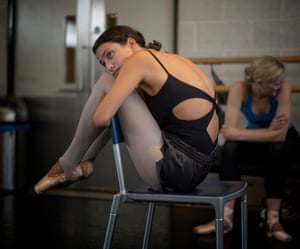 Adriana Lizardi, trained in Puerto Rico, currently dancing with the English National Ballet.