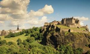 Edinburgh Castle, from Princes Street.