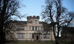 The former Smyllum Park orphanage in Lanark.
