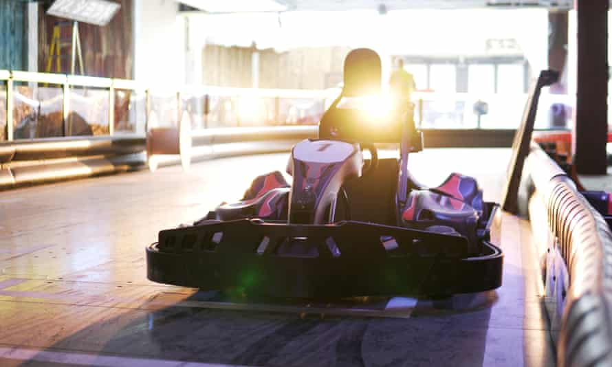 Gravity in Wandsworth's former Debenhams will have the UK's first electric go-karting tracks.