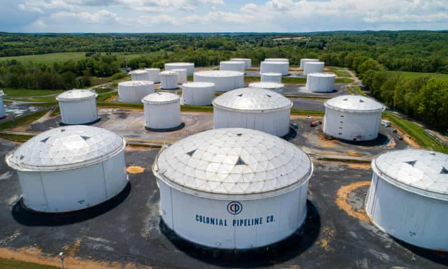 Colonial Pipeline, the source of nearly half of the east coast's fuel supply shut its entire network after breach of computer network.