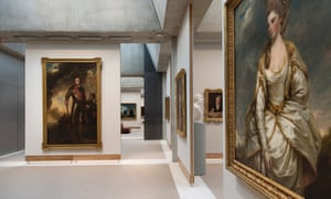 Yale Center for British Art Library: 'It provides a stately setting for American philanthropist Paul Mellon's several-thousand-strong collection of Turners and Constables, Hogarths and Stubbses.'