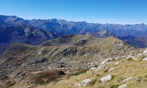 The research team collected samples from a remote mountain catchment in the French Pyrenees over a period five months.