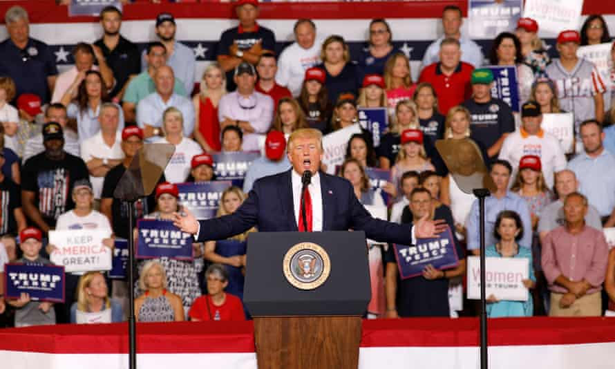 """When President Donald Trump criticized US Rep Ilhan Omar, the crowd responded by chanting """"send her back."""""""