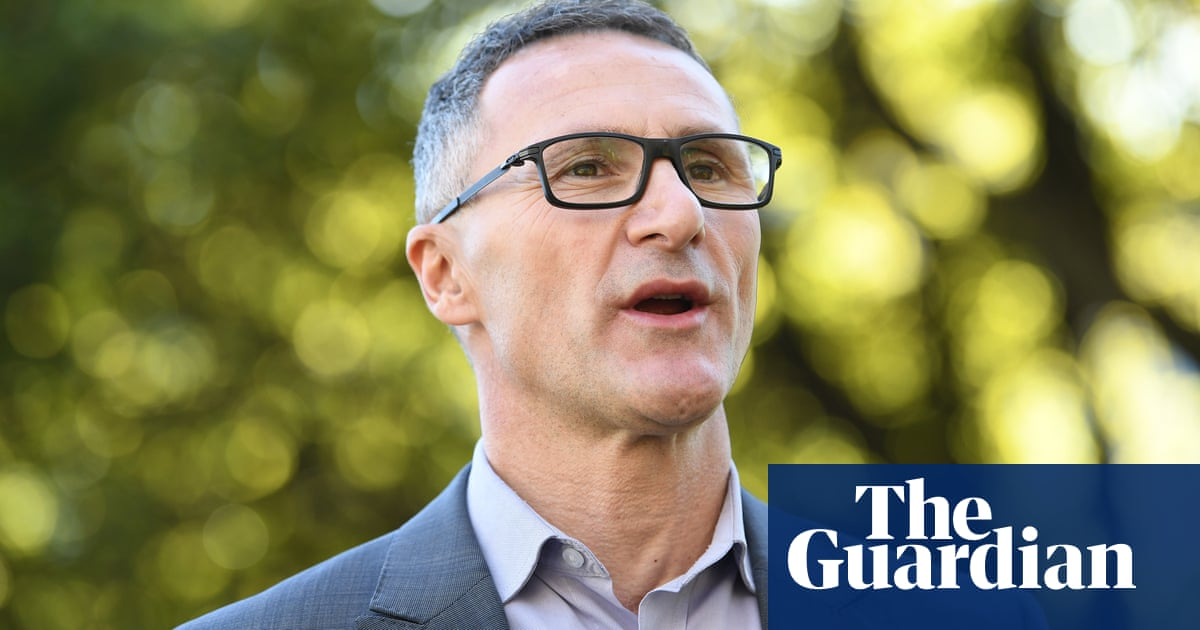 Richard Di Natale: I will work with Labor to get action on climate change