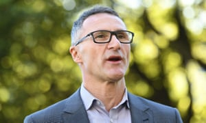 Richard Di Natale says Scott Morrison is playing a predictable political game punishing councils for not holding citizenship ceremonies on Australia Day