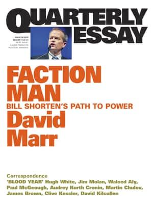Quarterly Essay's cover