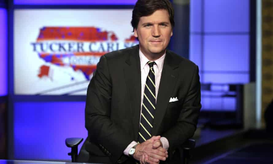Tucker Carlson is one of the few Fox News prime-time hosts to set a different tone on coronavirus, warning that 'staying calm is not the same as being complacent'.