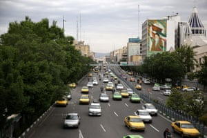Tehran, the capital of Iran, today.