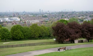 View of Hornsey from Alexandra Palace