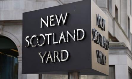 New Scotland Yard, the Met police headquarters
