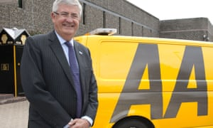 Bob Mackenzie had been the executive chairman of AA since 2014. He was fired by the company's board on Tuesday.
