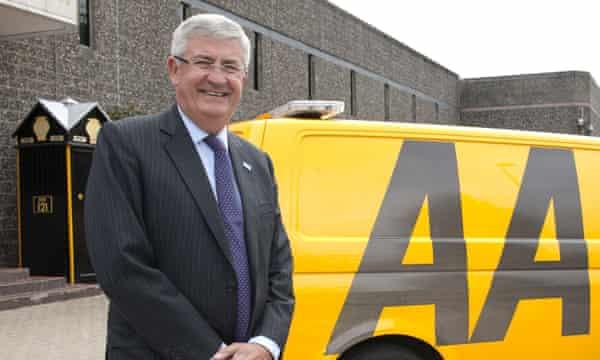 Bob Mackenzie, the former executive chairman of the AA.