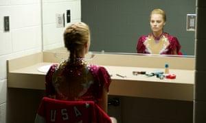 Margot Robbie as infamous US figure skater Tonya Harding in I, Tonya