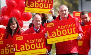 The unhappy face of Scottish Labour as the polls predicted a wipe out in the 2015 general election