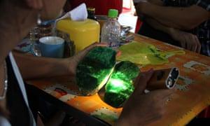 A jade stone