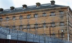 HMP Barlinnie in Glasgow.