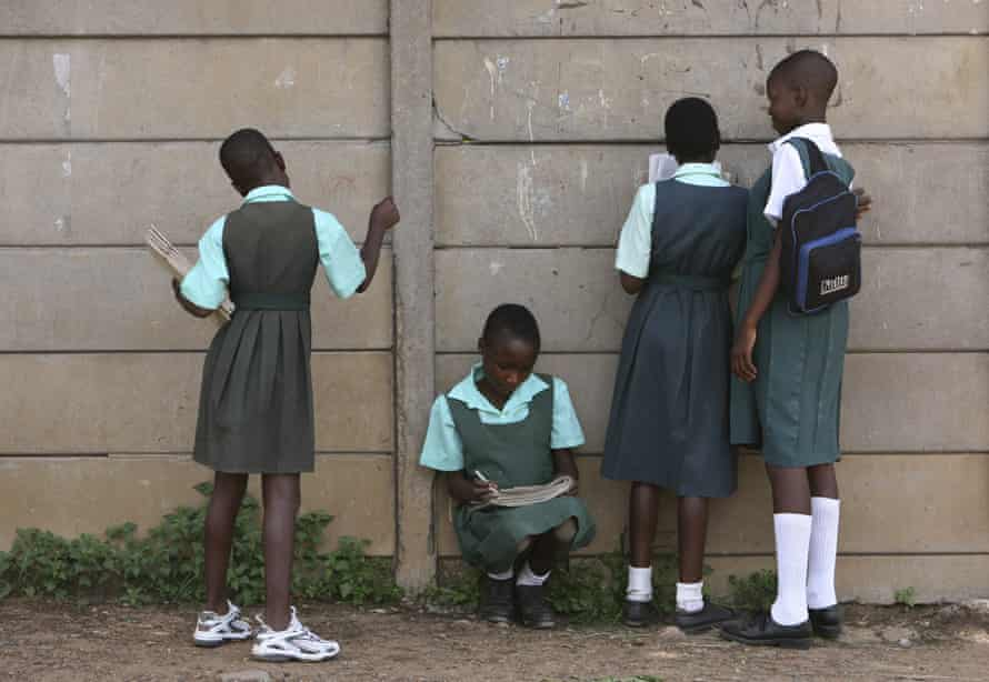 School children in Zimbabwe