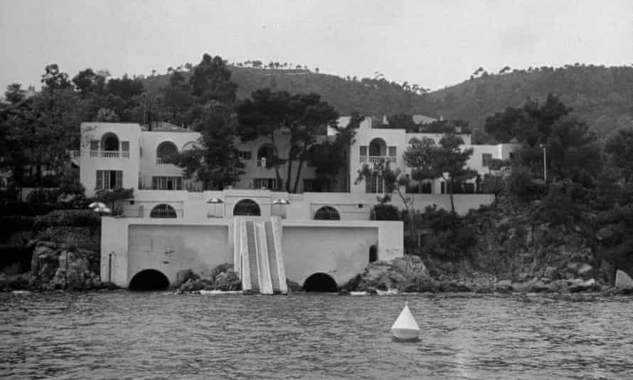 Maxine Elliott's Chateau de l'Horizon on the Cote d'Azur