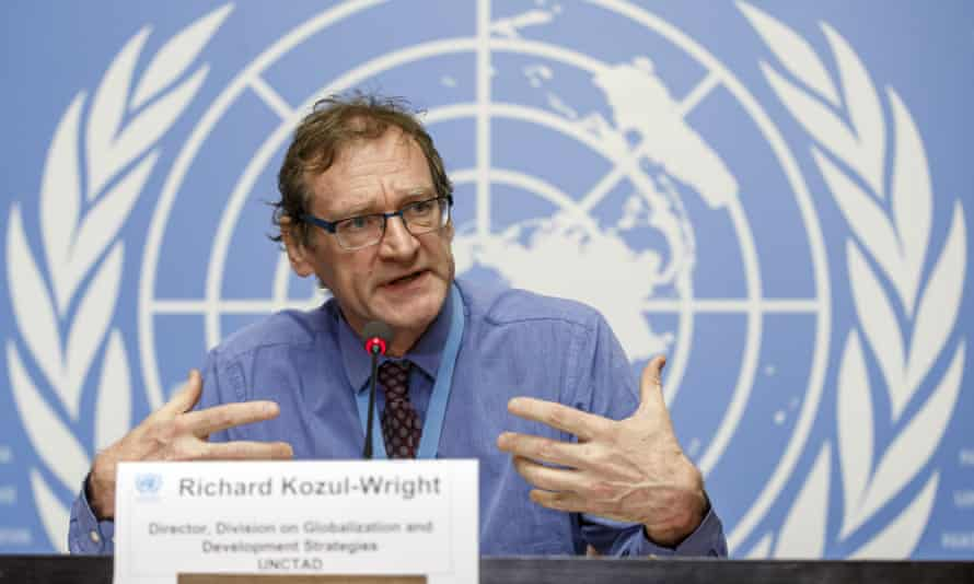Richard Kozul-Wright, Director of the Division on Globalization and Development Strategies at Unctad