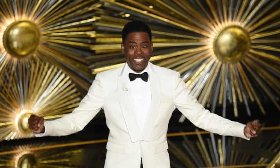 2016 Oscars host Chris Rock.
