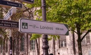 the 'Avenue Verte' from Paris to London.
