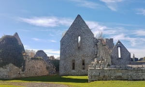 Hulne Priory on sunny autumn day. Photograph: Susie White