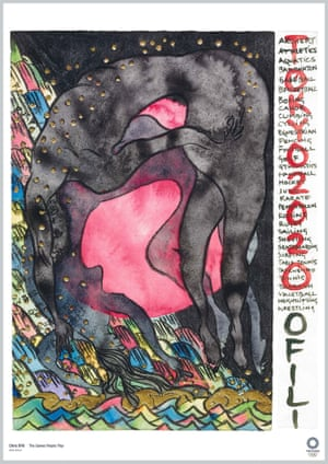 The Games People Play by artist Chris Ofili