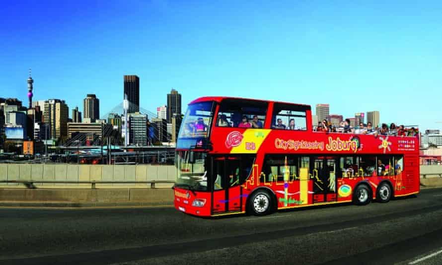 Red Bus tour, Johannesburg