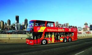 Red bus Joburg