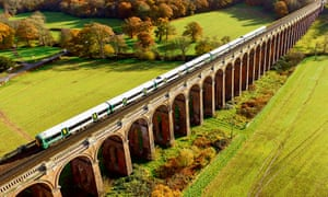 Ouse Valley Viaduct in Sussex.Built in 1841 and 1475 feet long using over 11 million bricks it crosses the River Ouse and is the main London to Brighton railway line.