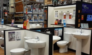 Buying a Cooke & Lewis bathroom from B&Q. But try getting a replacement if something goes wrong.