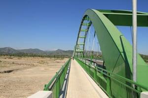 A new bridge in Oecusse.