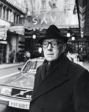 Alec Guinness as John Le Carre's spy George Smiley.