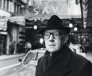 Alec Guinness as George Smiley.
