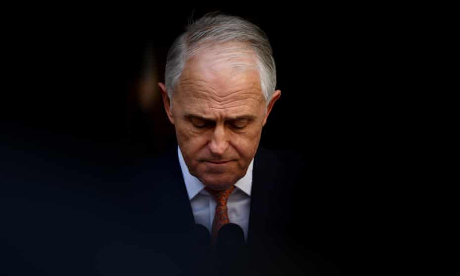Malcolm Turnbull gives his farewell press conference as prime minister