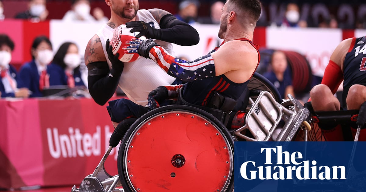 ParalympicsGB stun US to win wheelchair rugby gold for first time
