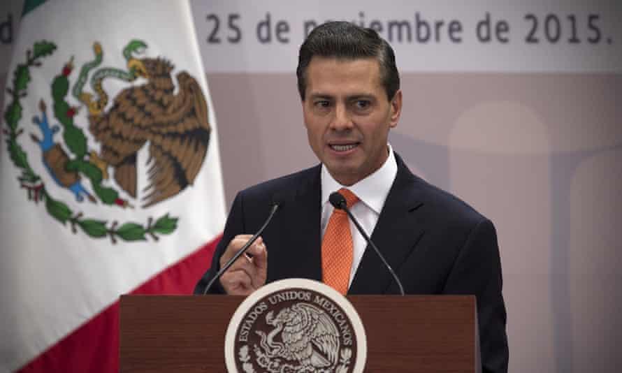 Enrique Peña Nieto has voiced opposition to the idea of legalized marijuana.