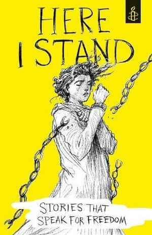 Here I Stand, ilustrated by Chris Riddell.